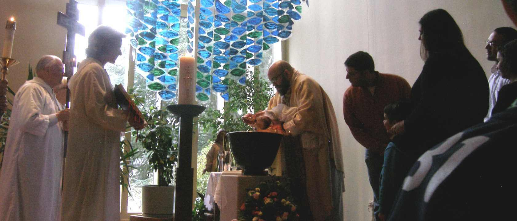 Baptism at Church of the Redeemer