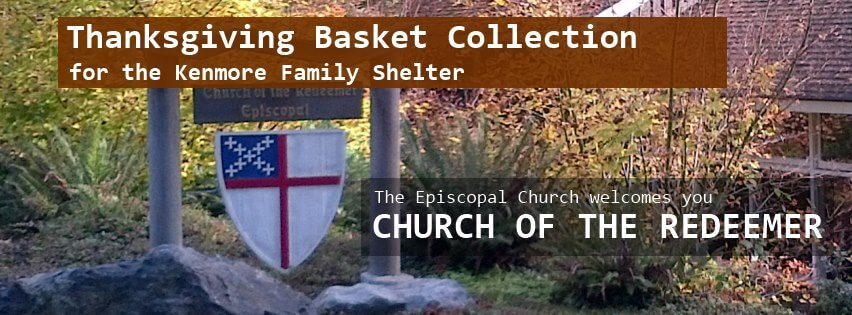 2013 Kenmore Family Shelter Thanksgiving Basket Collection