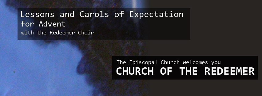 Lessons and Carols of Expectation for Advent