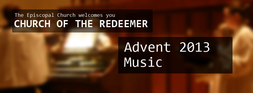Music for Advent 2013