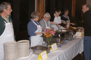 Workers at the Kenmore Movable Feast on November 14, 2013