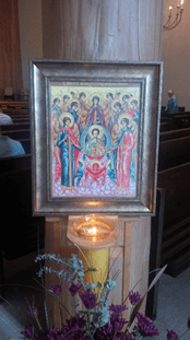 St. Michael and All Angels Icon