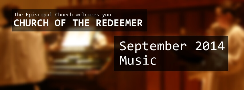 Music in September 2014