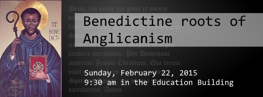 Benedictine roots of Anglicanism