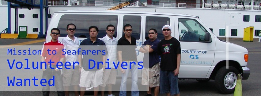 Mission to Seafarers: Volunteer Drivers Wanted