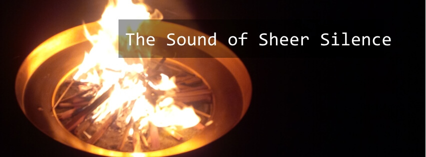 The Sound of Sheer Silence