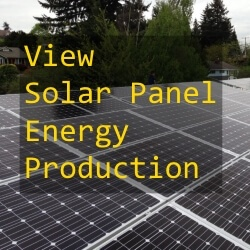 View Solar Panel Energy Production