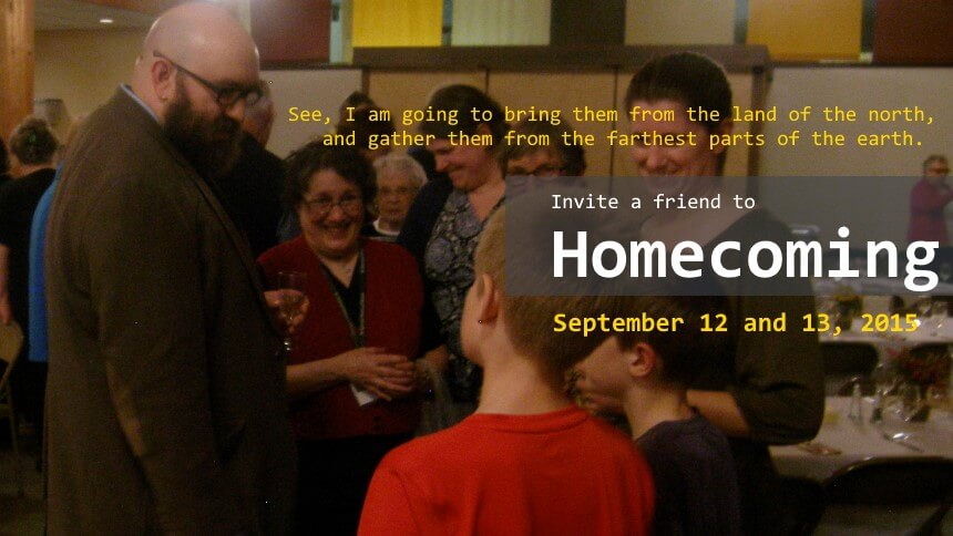 Invite a friend to homecoming