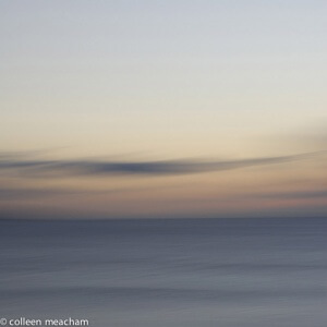 First Light, one of the photographs in the Brushstroke exhibition