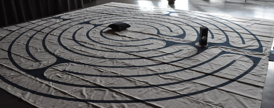 Circle of Peace labyrinth at Church of Redeemer.