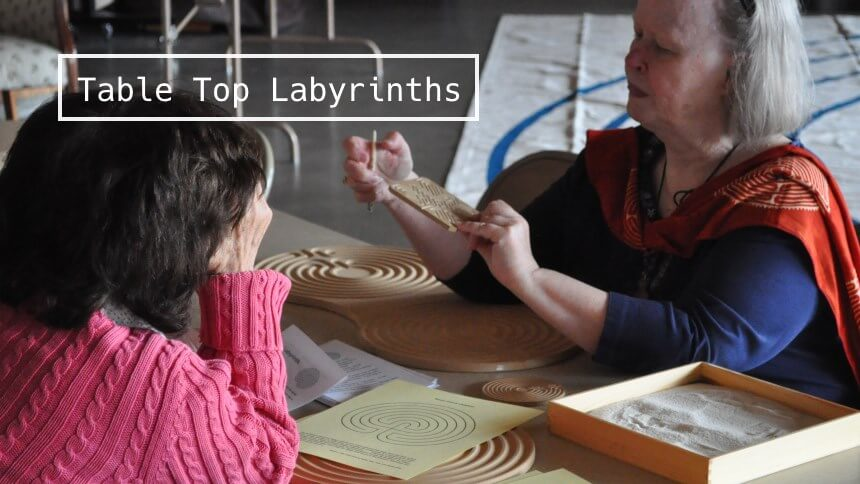 Table Top Labyrinths on July 10, 2016