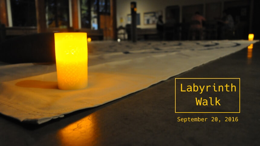 Labyrinth Walk on September 20, 2016