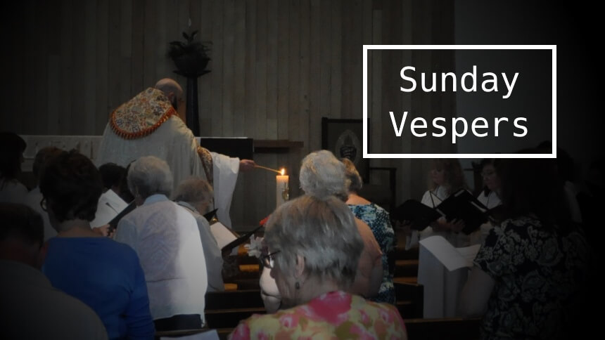 Sunday vespers for Michaelmas