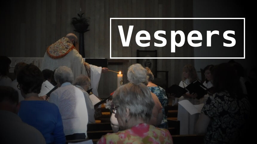 Vespers for All Saints' Day and All Souls' Day