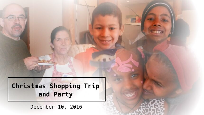 Hopelink Kenmore Place Christmas Shopping Trip 2016