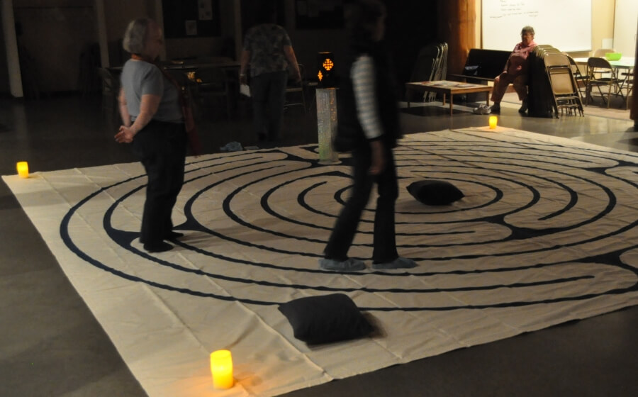 Labyrinth participants in September 2016
