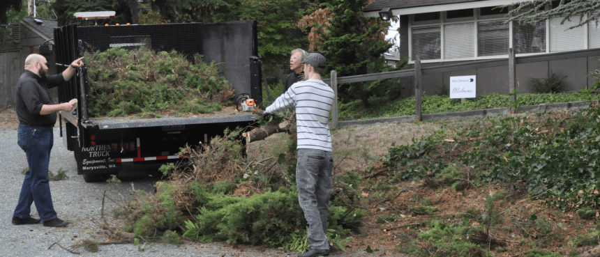 Yardwork on October 1, 2016