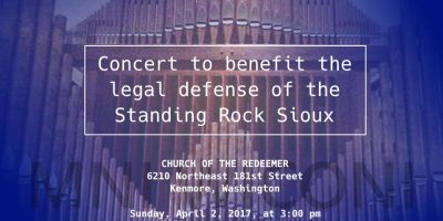 Standing Rock Legal Benefit Concert