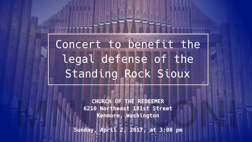 Standing Rock Legal Defense Fund Benefit Concert