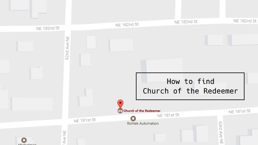 How to Find Church of the Redeemer
