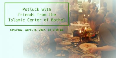 Potluck with the Islamic Center of Bothell