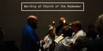 Worship at Church of the Redeemer