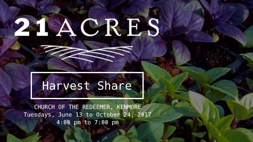 21 Acres Harvest Share program