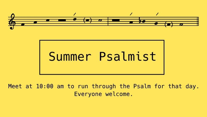 Summer Psalmist