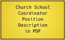 Church School Coordinator Description in PDF