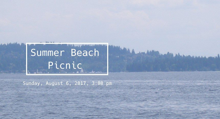 Summer Beach Picnic 2017