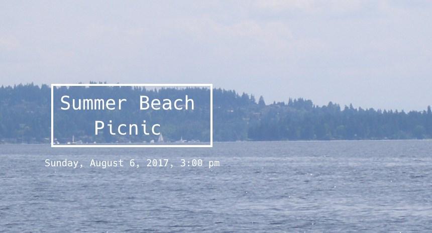 Summer Beach Picnic 2017