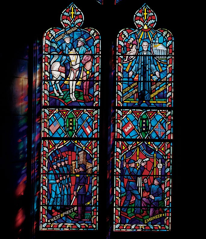 Gen. Robert E. Lee window in the National Cathedral.