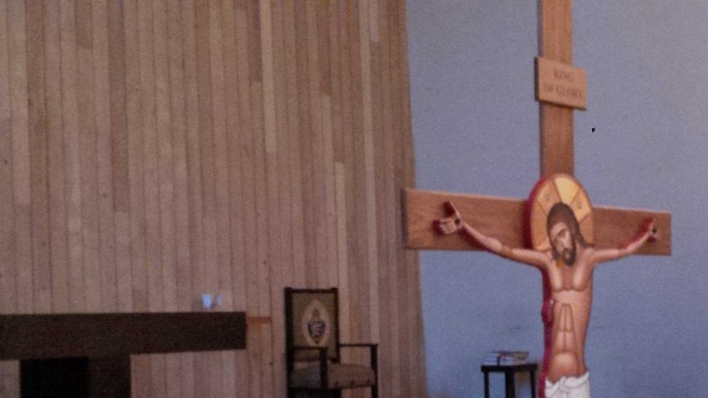 Behold the wood of the cross on Good Friday