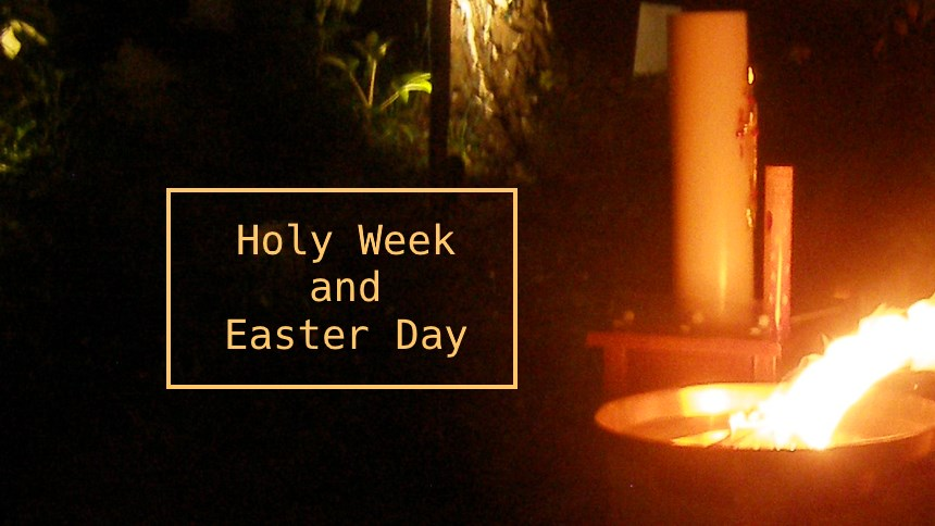 Holy Week and Easter at Church of the Redeemer